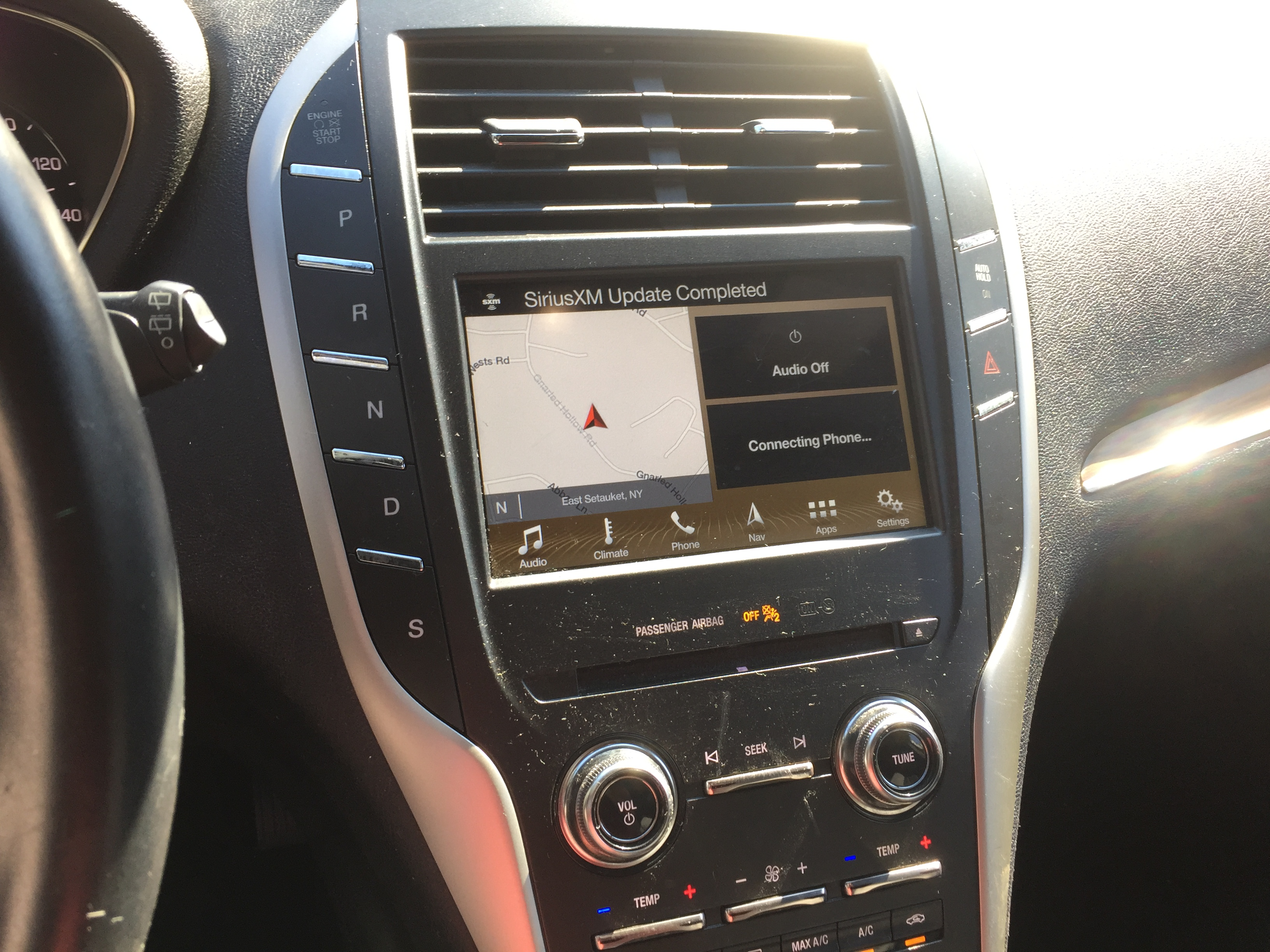 2017 Lincoln MKC AWD front damage. Loaded, 19k miles, Runs and drives, good air bags full